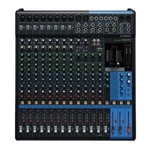 Console analogique 16 canaux avec effets Yamaha - Nantes Sono - Location de matériel de sonorisation de lumière et de vidéo à Nantes (44)