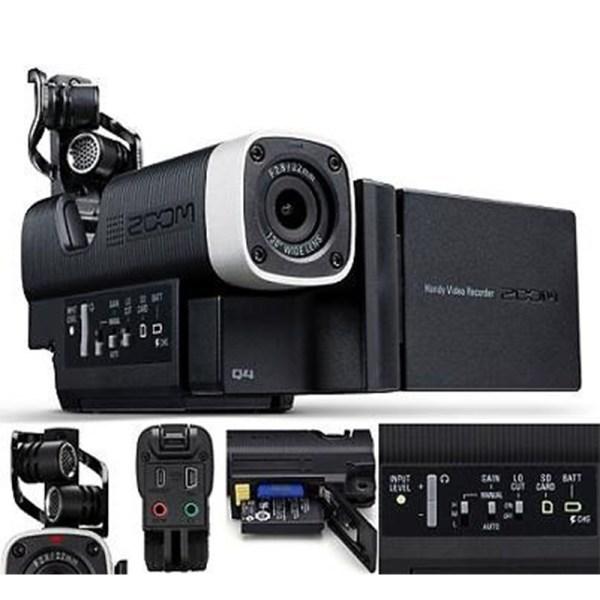 Enregistreur Audio & Vidéo Full HD Compact ZOOM Q4 - Sono 85 - Sono Nantes - Location et Vente de matériel de sono de lumière et de vidéo