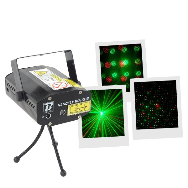 Mini Projecteur Laser Multipoint et Gobo - Nantes Sono - Location de matériel de sonorisation de lumière et de vidéo à Nantes (44)