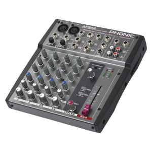 Console de Mixage PHONIC AM 220 - Nantes Sono - Location et vente de matériel de sono de lumière et de vidéo à Nantes (44)