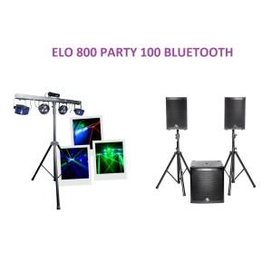 ELO 800 PARTY 100 BLUETOOTH - Sono 85 - Sono Nantes - Location et vente de matériel de sono de lumière et de vidéo