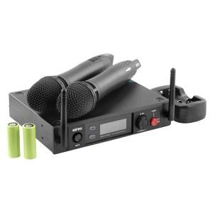 Système Micro HF MIPRO ACT 2402 + 2 x ACT 24HC - Nantes Sono - Location et vente de matériel de sono de lumière et de vidéo à Nantes (44)