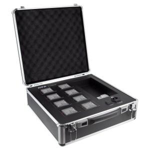 Valise pour 8 batteries HPA SC-2288CG8 - Sono 85 - Sono Nantes - Vente de matériel de sonorisation de lumière et de vidéo - France