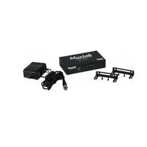 Distributeur 1x2 HDMI 4K-60 MUXLAB 500425 - Nantes Sono - Location et vente de matériel de sono de lumière et de vidéo - Pays de La Loire - France
