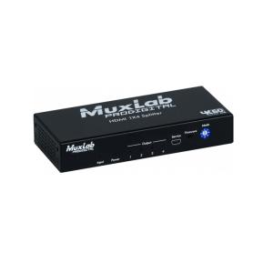Distributeur 1x4 HDMI 4K-60 MUXLAB 500426 - Nantes Sono - Location et vente de matériel de sono de lumière et de vidéo - Pays de La Loire - France