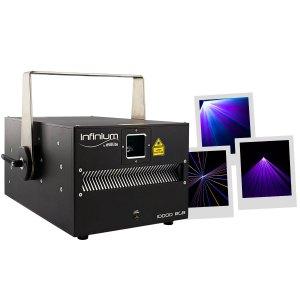 Laser Professionnel INFINIUM 10 000 RGB - Sono 85 - Sono Nantes - Vente de matériel de sonorisation de lumière et de vidéo - France