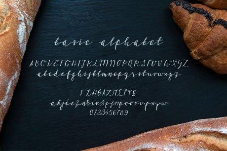 Gluten Frei Multilingual Script Font