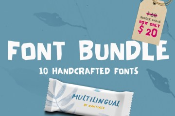 Handwritten Font Bundle Pack