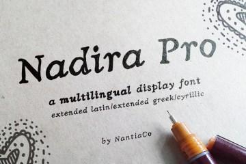 Nadira Pro Font