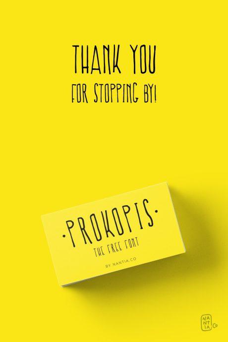 Free Font Prokopis