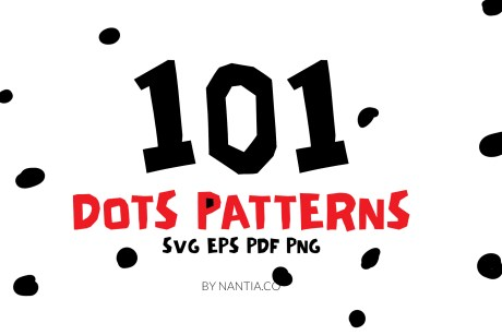 Dots Seamless Vector Patterns