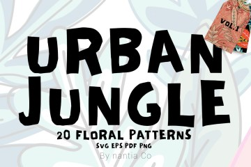 Urban Jungle Pattern