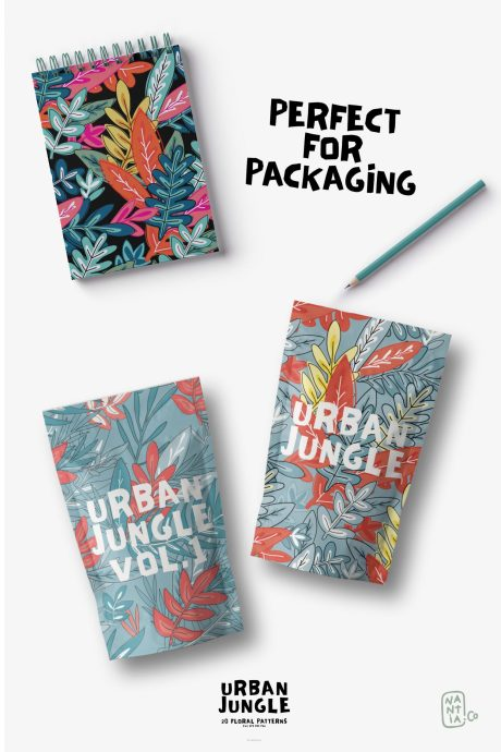 Seamless Patterns 20 x Urban Jungle Vol 1
