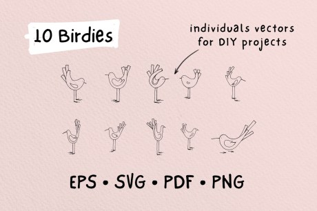 Birdies | A Tiny Design Kit