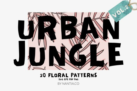 Seamless Patterns 20 x Urban Jungle Vol 2