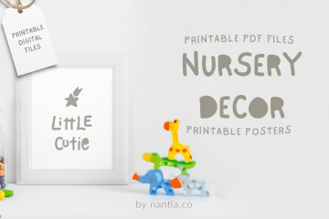 Little Cutie, nursery printable!