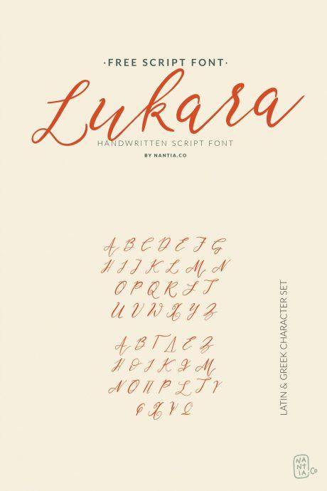 Lukara Script Font – Free Download Lukara Script Font – Free Download