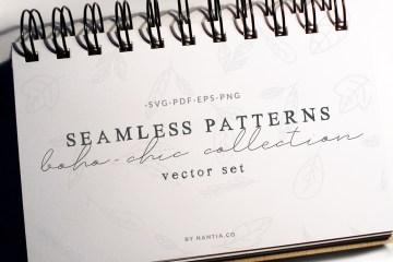 Boho-Chic Seamless Patterns