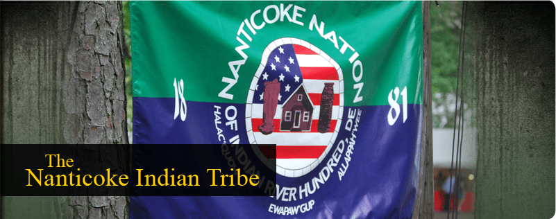 Nanticoke Indian Flag