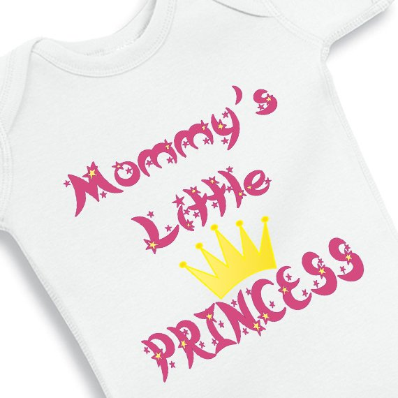 Mommys Little Princess Baby Onesie Nany Crafts