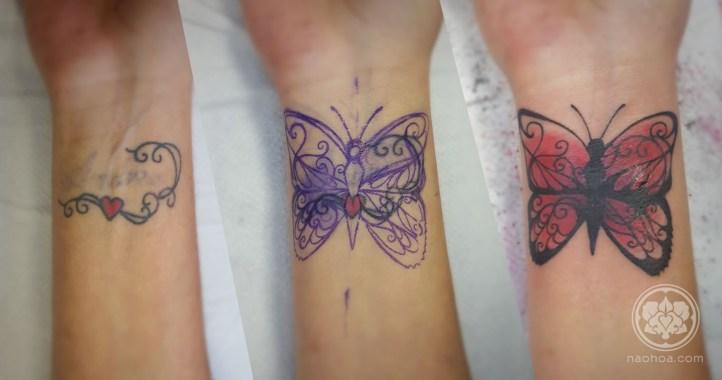 Bye-Bye Ex! Butterfly Coverup