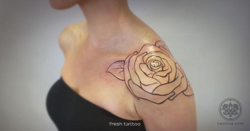 Oversized Rose