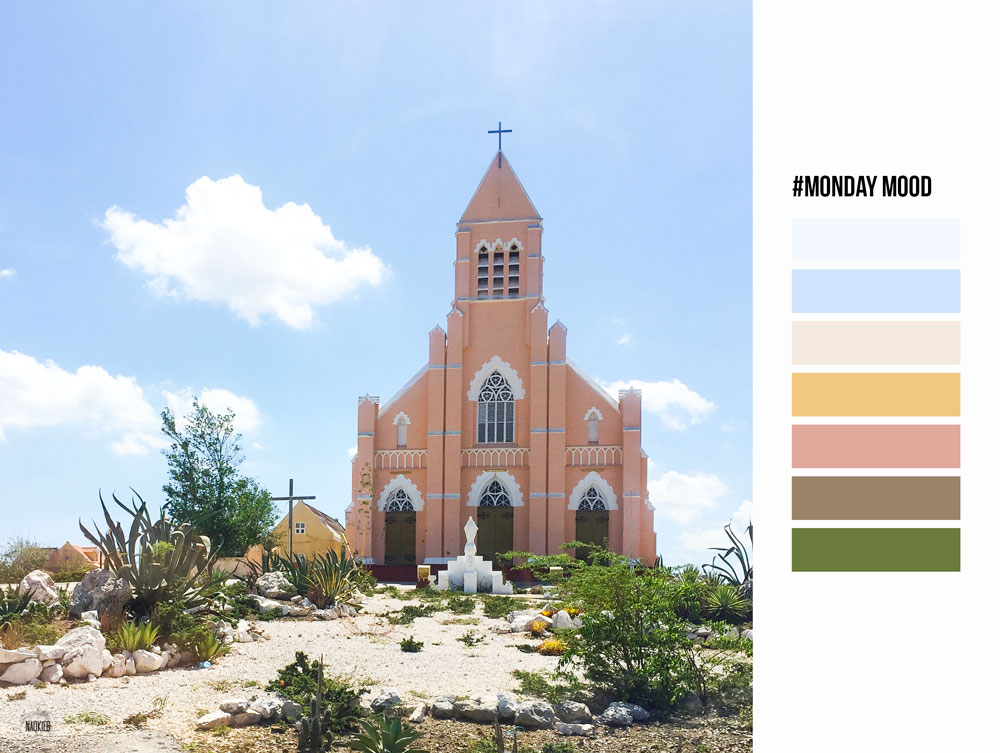 #mondaymood moodboard_church_curacao_naokies_photography