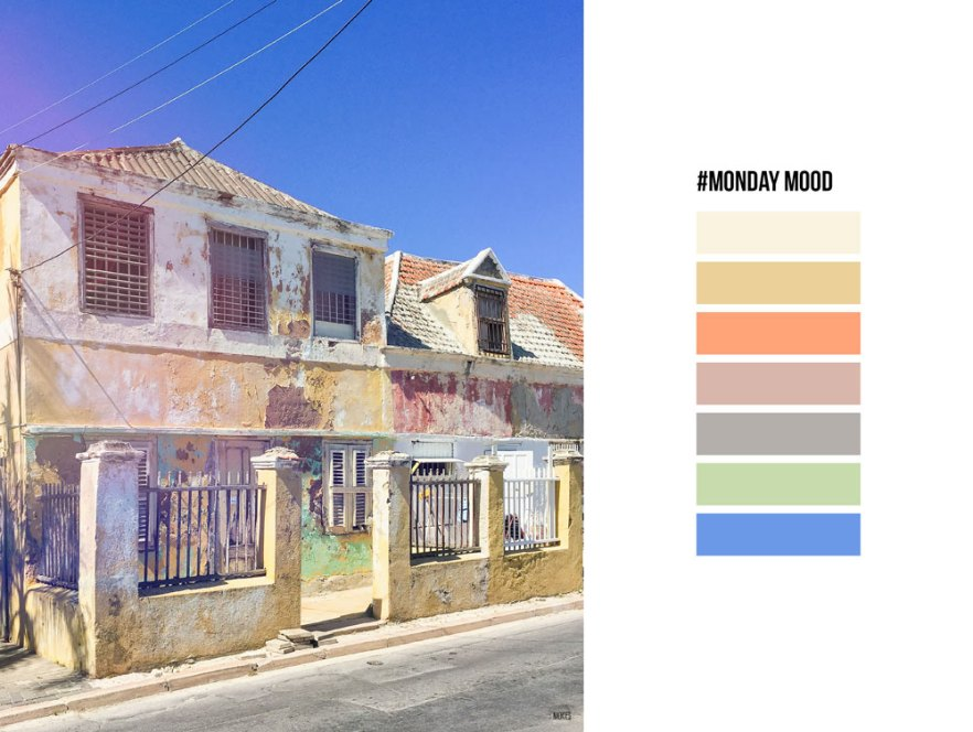 #mondaymood moodboard curacao photography naokies old building