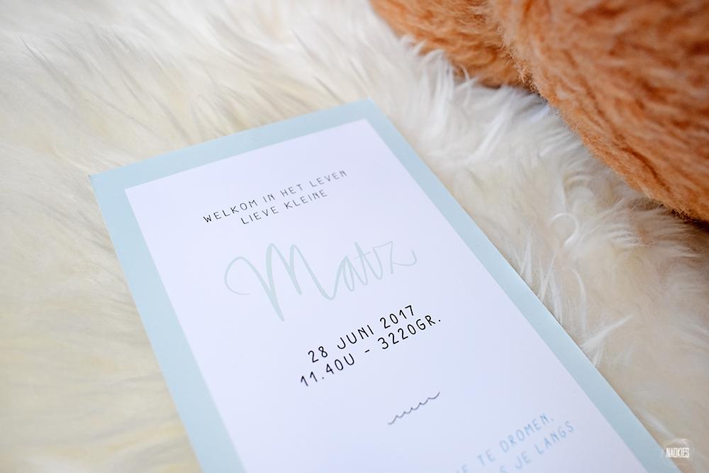 geboortekaartje-voor-matz-handlettering-baby-studio-naokies-grafisch-ontwerp