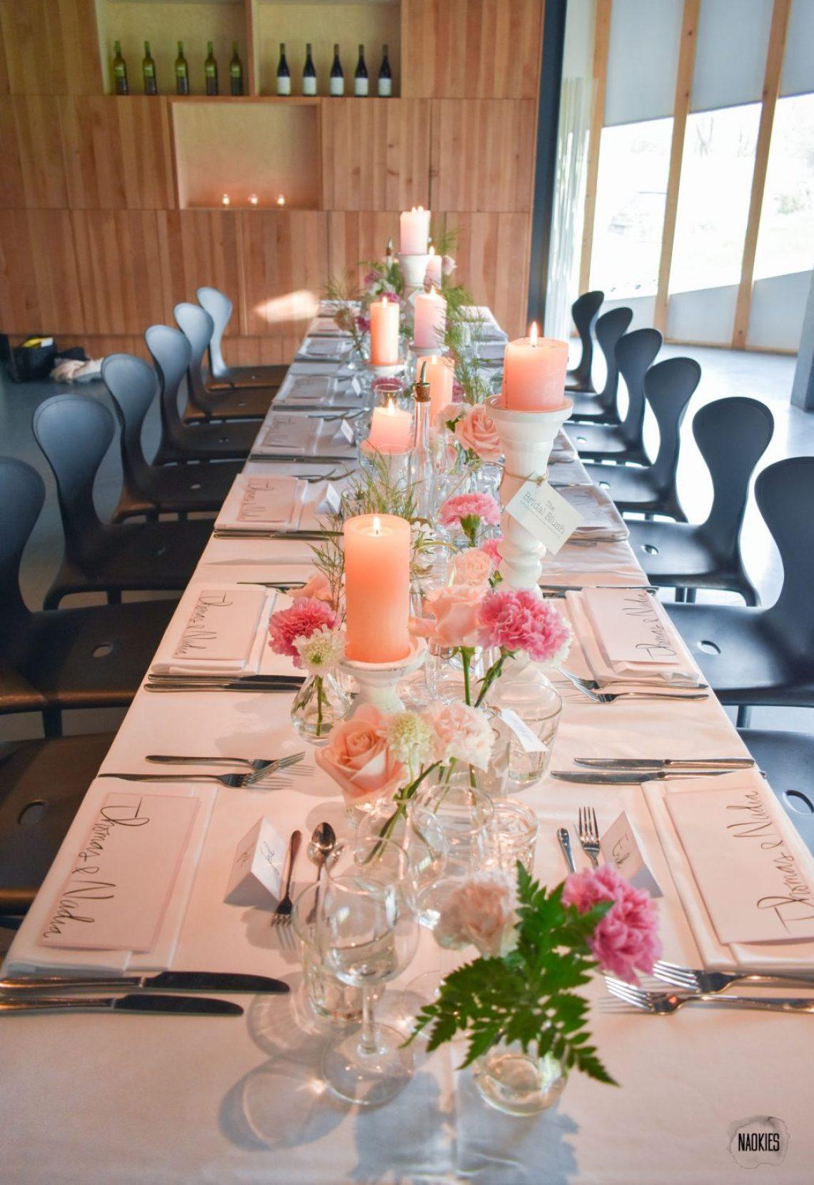 Open TopTrouwlocatie Route bruiloft eettafel styling studio naokies Paviljoen Puur
