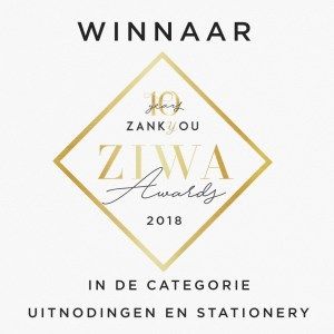 Studio Naokies Winnaar Uitnodiging en Stationery