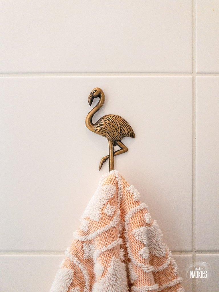 toilet makeover handdoekhaakje studio naokies