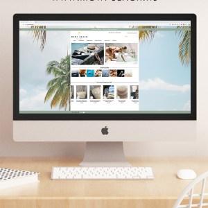 Branding Mowi Beach webshop styling beachwear Studio Naokies