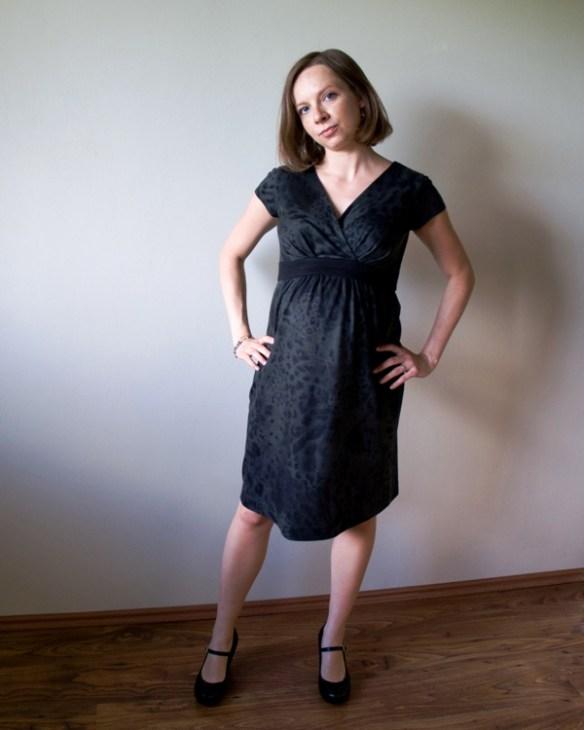 Sukienka ciążowa dzianinowa 1