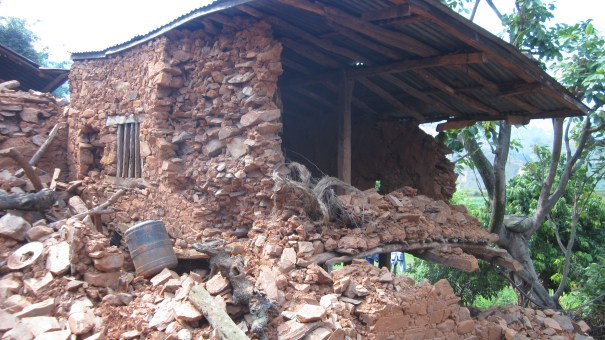 House in Rubble Mahadev Besi