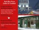 Invite to Red Hen Press reading in London