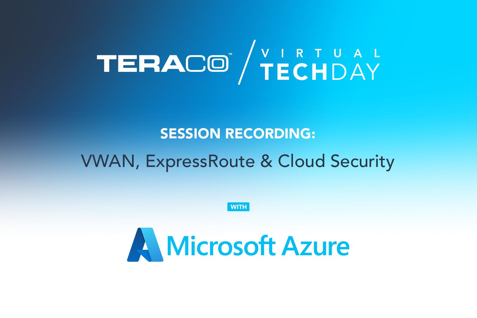 Teraco Tech Day   Microsoft Azure