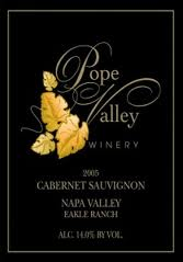 Pope Valley Winery, Napa Valley