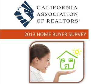 CAR 2013 Home Buyer Survey