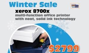 xerox 8700x only $99/mo