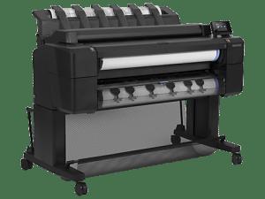 hp t2500 emfp printer plotter