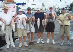 Fishing Charter Customers, Naples FL