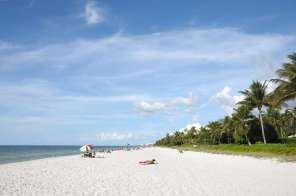 Beach In Naples, Florida