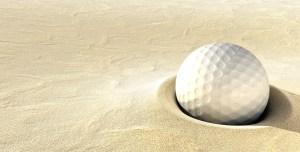 ball in a bunker