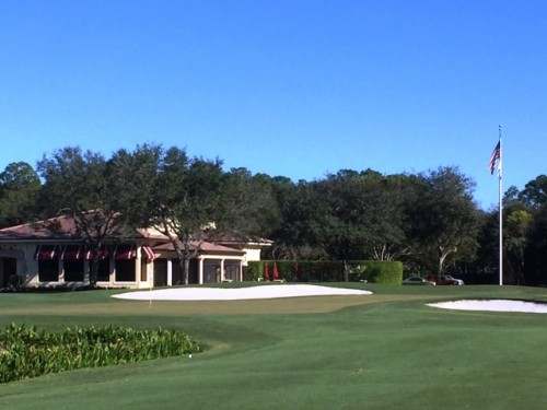 Hideout Golf Club Clubhouse