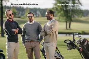 networking on the golf course