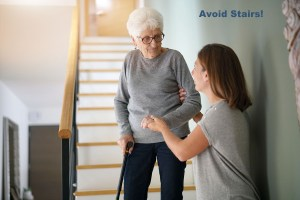 avoid stairs