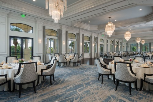 private dining in golf communities
