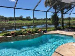luxury pool homes