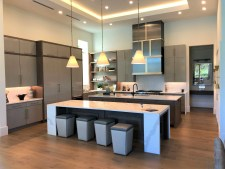 uxury Kitchen in Single Family Quail West Custom Home